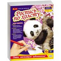 Роспись по холсту Панда