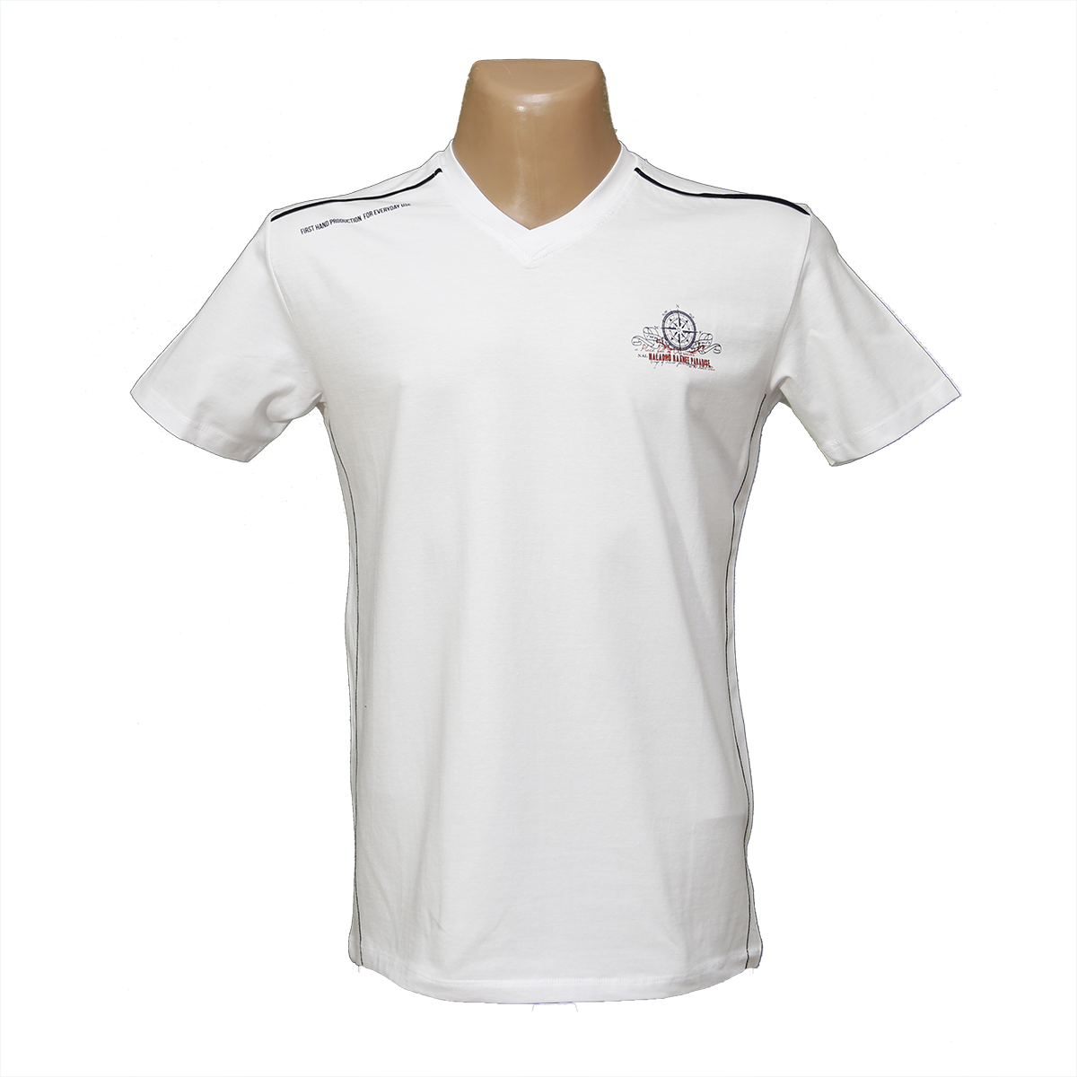 Мужская стрейчевая футболка Lycra тм. BY Walker. пр-во Турция 4016-5