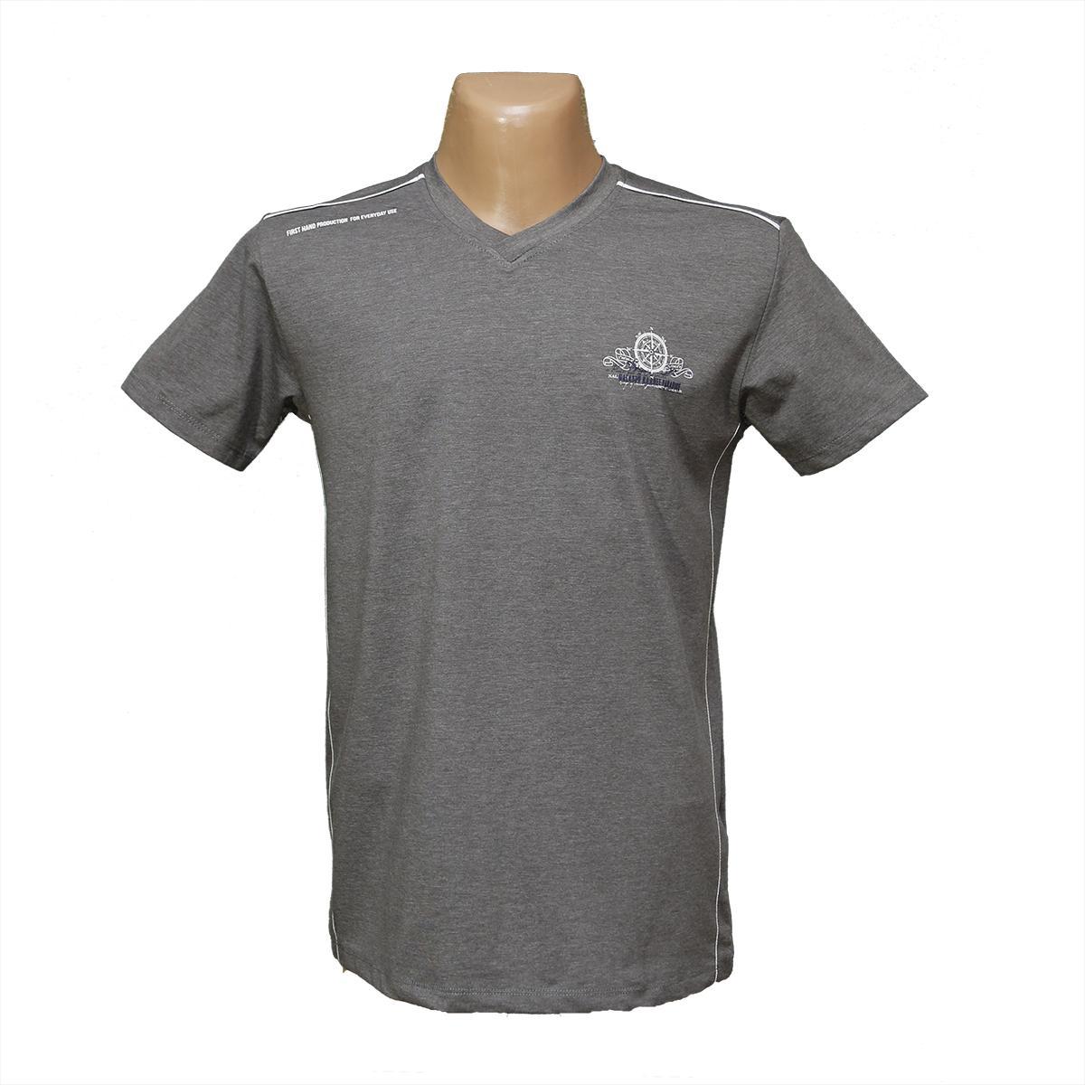 Мужская стрейчевая футболка Lycra тм. BY Walker. пр-во Турция 4016-6