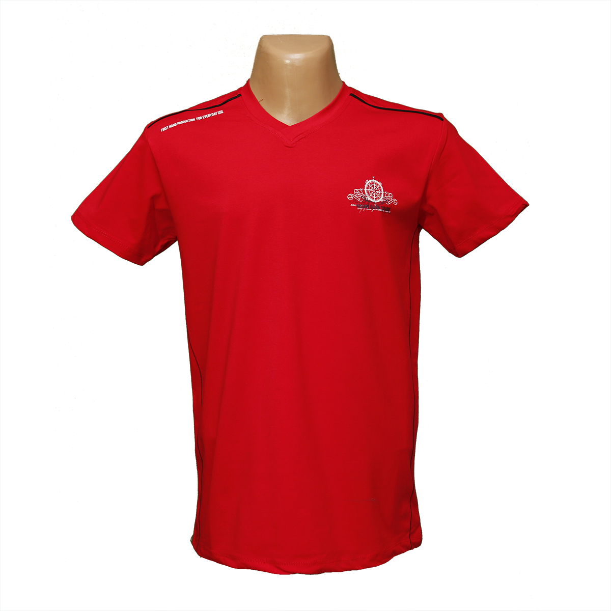 Мужская стрейчевая футболка Lycra тм. BY Walker. пр-во Турция 4016-7