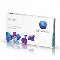 Biofinity контактные линзы 3шт+1(в подарок )