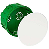 Распределительная коробка для сплошных стен Schneider 100Х50