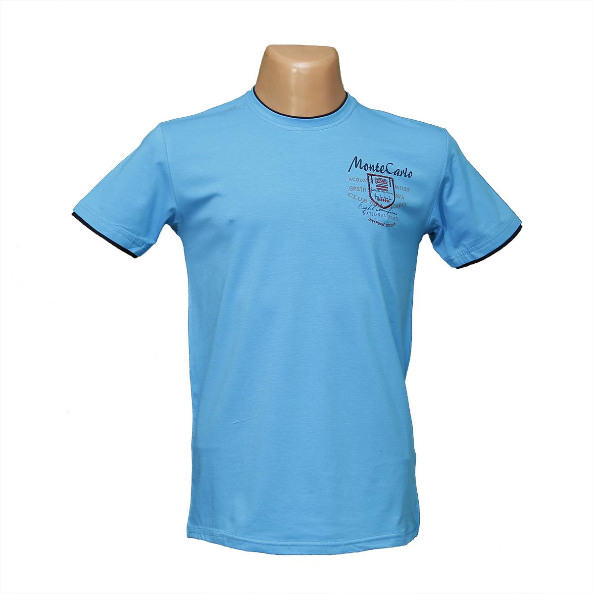 Мужская стрейчевая футболка Lycra тм. BY Walker. пр-во Турция 4042-2