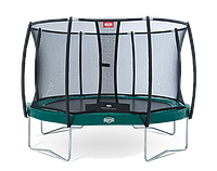 Батут Berg Elite+ Regular Green 430+ Safety Net T-series 430, фото 1
