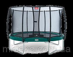 Батут Berg Elite+ Regular Green 430+ Safety Net T-series 430
