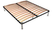 Кровать_LOZ 160 (каркас) Рафло дуб венге (БРВ-Украина TM), фото 3