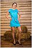 """Платье вышитое  """"Столітнє"""" с коротким рукавом ( арт. PK14-96.12.18 )"""