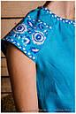 Коротенькое вышитое платьице для лета, фото 2