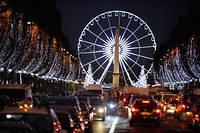 Предрождественские развлечения в Париже