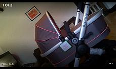 Детская коляска 2 в 1 iCandy Peach All Terrain + спальный мешок, фото 3