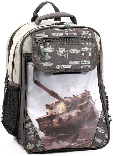 Вместительный рюкзак школьный из нейлона 15 л. Bagland 58070-16