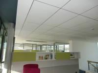 Подвесные акустические потолки AMF Германия, в уп. 10шт ( 7.2м2) белый, размер 1200 х600 х15мм