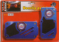 Накладки на педали автомат 350 BL/BK