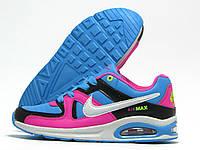 Кроссовки детские Nike Air Max голубой с розовым (найк эир макс)