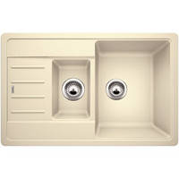 Гранитная кухонная мойка Blanco Legra 6S Compact жасмин