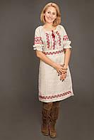 """Платье вишитое """"Україночка"""" с корсетным поясом  ( арт. PK9.2-77.1.16 ) , фото 1"""