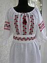 Платье вышитое с корсетным поясом , фото 3