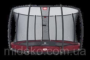 Батут Berg Elit+Regular Red Tattoo 430+Safety Net T-series 430