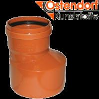 """Редукция 160х110 для наружной канализации  из ПВХ """"OSTENDORF""""  (Германия)"""