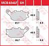 Тормозные колодки для мотоциклов TRW / Lucas MCB634