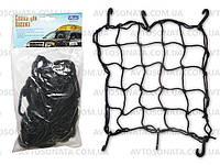 Сетка для фиксации багажа 9551A 0,4х0,4м/8см 6 пл. крючков