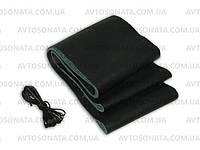 Оплетка кожа VSF-68/3 L черная/обшиваемая/3 шва, фото 1