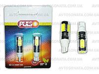 Лампочка без цок.Т10  5LED PULSO LP-21755 SMD-HP/12V/7.5W White, фото 1