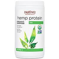 Белок конопляный органический, суперфуд, Nutiva, 454 грамма