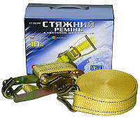 Стяжка груза 5T х50мм х10м ST-212-10 YL (color box)