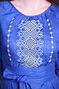Платье отрезное по талии,вышитое, фото 2