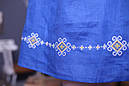 Платье отрезное по талии,вышитое, фото 4