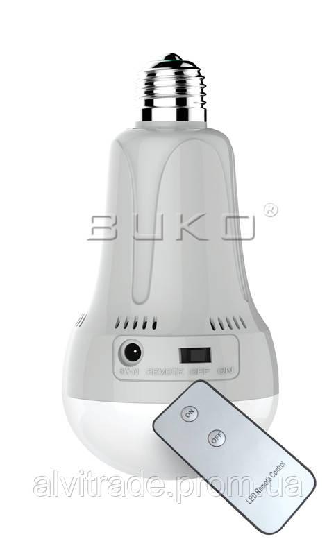 LED лампа-фонарь WATC WT420 5W С АКБ 3,7V AC/DC