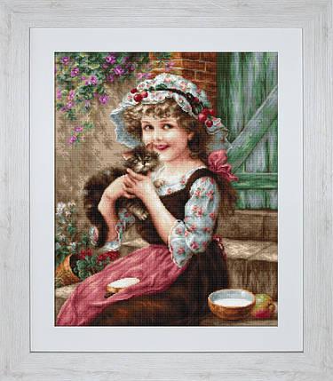 """Набор для вышивания нитками  """"Маленький кот"""", фото 2"""