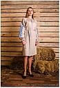 Платье с длинным рукавом вышитое , фото 2