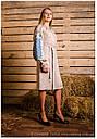 Платье с длинным рукавом вышитое , фото 3