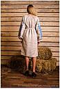 Платье с длинным рукавом вышитое , фото 4