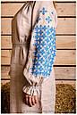 Платье с длинным рукавом вышитое , фото 5