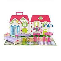 Домик для куклы 3351 с мебелью