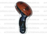 Ручка КПП 187 Wood/Chrom, фото 1