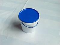 Ведро пластиковое 1л, белое