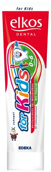 Детская зубная паста Elkos 100 мл