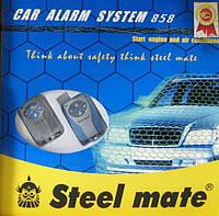 Сигнализация STEEL MATE 858 (автозапуск)