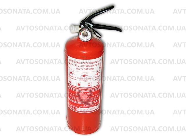 Огнетушитель 1кг ВП-1 с манометром (Пожтехника) - АВТОСОНАТА в Запорожье