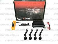 Парктроник TIGER TG-P4LED 4 дат Black/black D=20mm