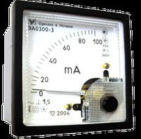 Амперметр ЭА0300-3 Мегомметр