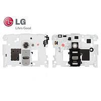 Средняя часть корпуса для LG G2 D800/D801/D802/D803/D805, оригинал (белая)