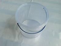 Ведро пластиковое 5л, прозрачное