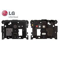 Средняя часть корпуса для LG G2 D800/D801/D802/D803/D805, оригинал (черная)