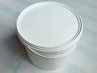 Ведро пластиковое 5.5л, белое