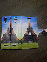 Double Case Lenovo A6000 Eiffel Tower/Statue of Liberty
